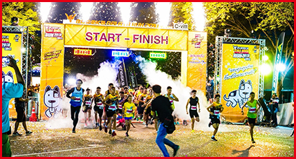 The First Eureka Salaya Running Event at Salaya Phutthamonthon - Utthayan Road