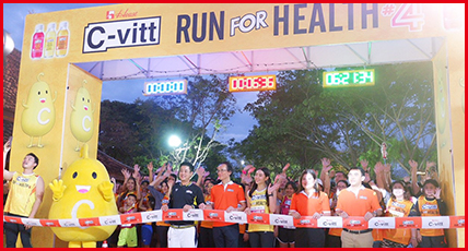The 4th C-vitt Run For Health, To Boost Health And Build Immunity with happiness